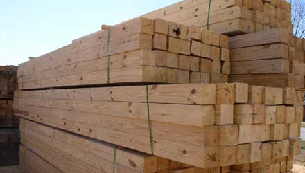 New Zealand Pine wood lumber at ASCO Enterprises