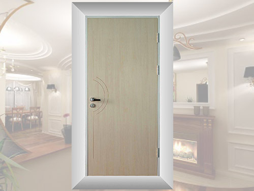Single Board Flush Door