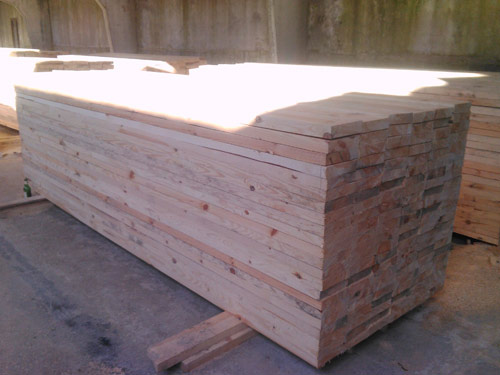 Sylvestra Pine cut sizes at ASCO Enterprises
